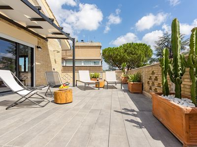 Photo for Vatican apartment 5 | Large terrace near the Vatican
