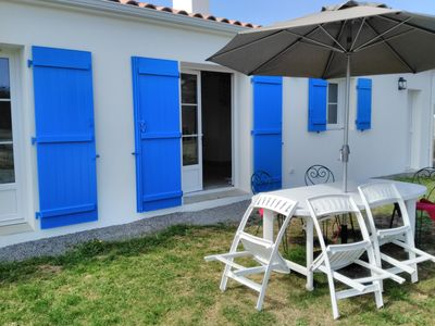 Photo for HOLIDAY HOUSE NOIRMOUTIER AT 500 METERS BEACH OF THE LINIERE