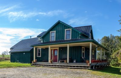 Photo for Green Farmhouse Retreat in the Heart of Grey