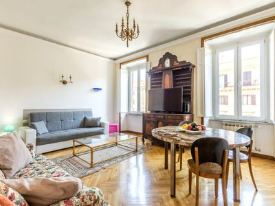Photo for 195 sqm apartment between  Vatican and historic center