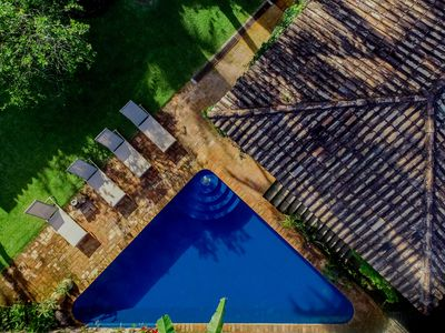 Photo for Beautiful House with View on Feiticeira Beach