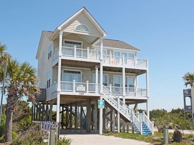 Photo for Heavenly Heights: 4 Bed/3 Bath Ocean View Home on East Beach
