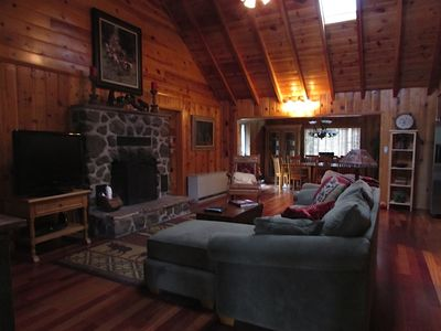 Photo for Quiet, Roomy, Relaxing, in Gated White Mountain County Club