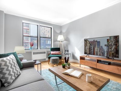 Photo for Swanky 1BR in Central Chelsea w/ Garden by Blueground