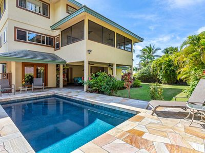 Photo for 100 feet to the Beach! | Private Home with Pool |  Starts at $625/Nt