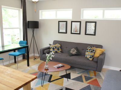 Photo for Private treetop loft, walk to UT, mins to downtown