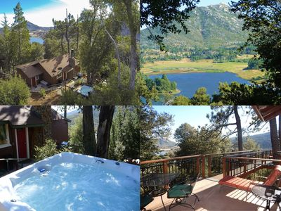 Photo for *** LUXURIOUS TREE-HOUSE ***  PANORAMIC LAKE VIEWS, CALDERA SPA + HOME THEATER