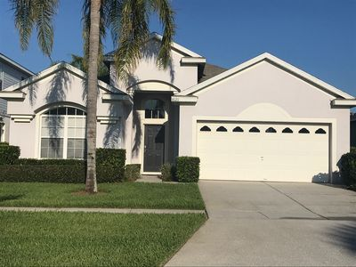 Photo for 5* 4 bed/3 bath pool home with 2 King master suites at The Windsor Palms Resort