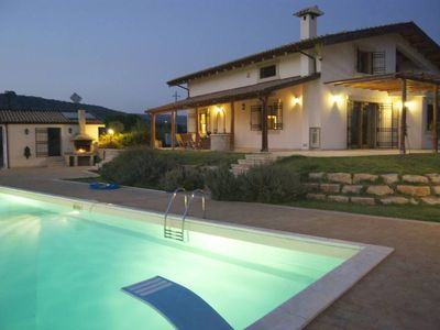 """Photo for Apartment in villa with pool close to sea, countryside, in the area of """"barocco"""""""