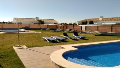 Photo for Detached house with shared pool in Conil