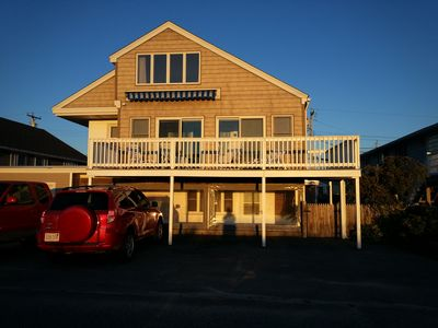 Photo for Spacious Seabrook Beach Home, Breathtaking Sunsets