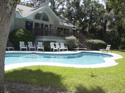 Photo for Beach or Golf: 31 Sea Lane, 5-BR Home W/Pool and Spa.