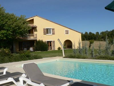 Photo for The Luberon, nice quiet family estate, swimming pools, games, large land.