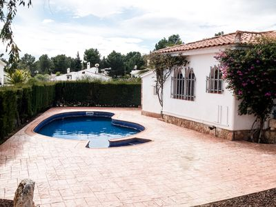 Photo for BIG 850M2 FAMILY HOUSE WITH SWIMING-POOL, BBQ AND WIFI_AVINGUDA MAR