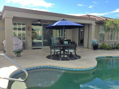 """Photo for Oasis """"Stay n Play"""" in Surprise/Pool/Spa/Golf Cart/Resort Adult Community Living"""
