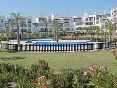 Photo for STUNNING PENTHOUSE, 2 LARGE SUNNY BALCONIES, 2 minutes from the resort centre