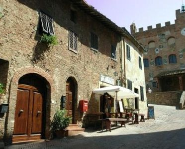 Photo for House typical  with garden in the medieval town of Certaldo Alto, near S. Gimignano, Firenze and Siena.  Ideal for visit all the Tuscany