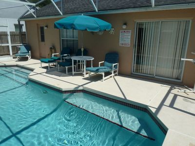 Photo for Well locate 3 Bed Pool home with garden near Disney
