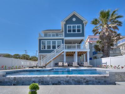 Photo for Bailey's Blue Ocean View, Lovely 5 BR Ocean Front Luxury Home with Private Swimming Pool