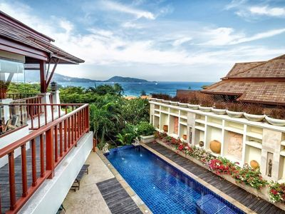 Photo for 300m to Patong Beach/ Seaview Pool Villa