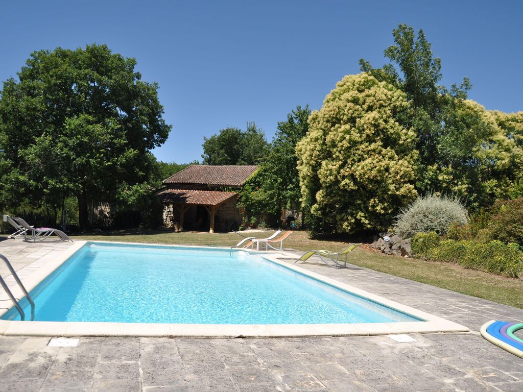 Construire Un Pool House perfect family holiday property with space to relax in rural setting -  saint-salvy
