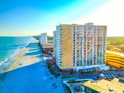 Photo for Fun Times at Sands Ocean Club, Oceanview Studio w/Full Kitchen, sleeps 4