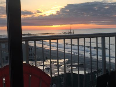 Photo for Enjoy Beautiful Sunrise On Balcony In Newly  Updated Premium 2Bed/2Bath Condo.