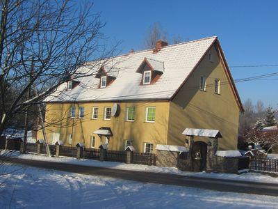 Photo for A spacious house in a quiet location on a quiet street, on the edge of a nature park