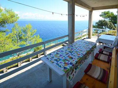 Photo for Vacation home Vlaho in Korčula/Prigradica - 6 persons, 2 bedrooms