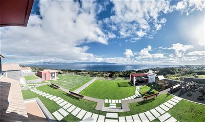 Photo for Orchid House, has a fantastic view where you can see the whole island of São Jorge!