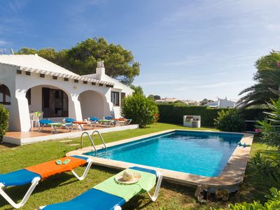 Photo for Villa BiniDo - private pool, free AC&WiFi