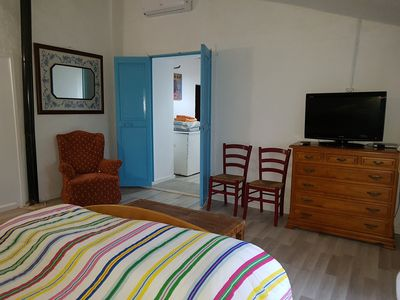 "Photo for Double room ""no. 108"" on finca, AC, breakfast possible, near Es Trenc"