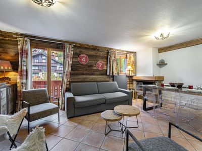 Photo for Ferme c318 : Charming and welcoming family apartment. Indoor swimming pool.