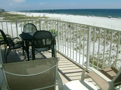 Photo for FALL SPECIALS  2nd fl. Beachfront Wrap Balcony King bedroom + 2 full beds