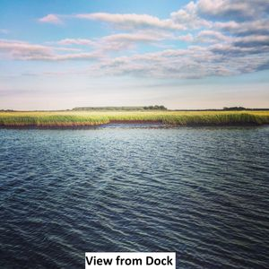 Vacation Home on Bay Front with Dock, Pet Friendly, 3 Bedrooms, Sleeps 6