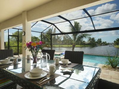 Photo for Gulf access home, private pool, great waterview, free WIFI