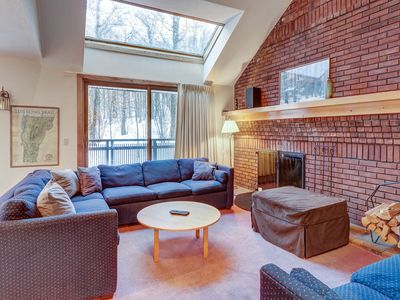 Photo for Ski-in/ski-out Sunrise townhome w/ shared pool & hot tub for year-round retreats