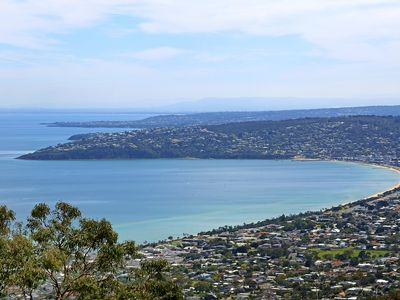 Photo for Eagle's Nest - whole cottage with amazing views over Port Phillip Bay