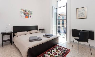 Photo for Apartment 684 m from the center of Naples with Internet, Air conditioning (620506)