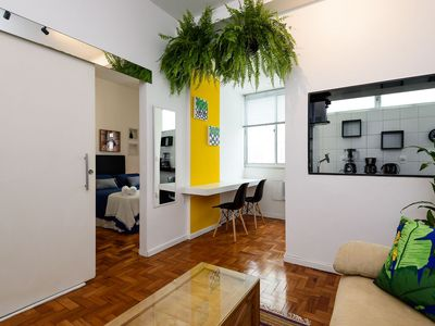 Photo for Omar do Rio - JG505 Spacious 1BDR at the Best Location of Ipanema
