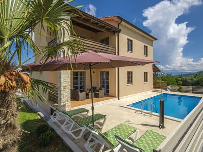 Photo for Nice villa with private pool near Pazin, in the green heart of Istria
