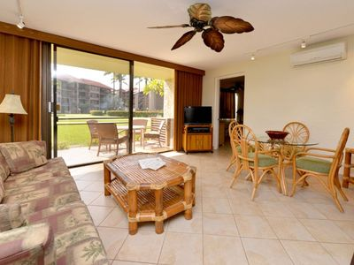 Photo for Fantastic Ground Floor Condo - Great For Families!! Ocean Views 2BR/2BA #G105
