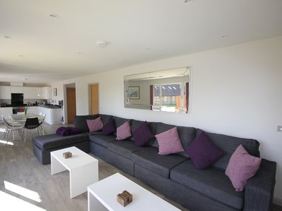 Photo for The Lodge At Flintstone Cottages Near Chichester and Goodwood Sleeps 6/8