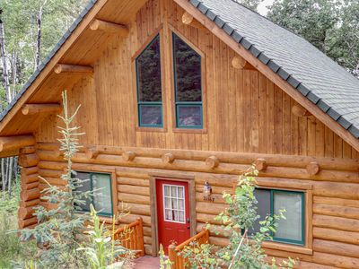 Photo for Deer Haven Lodge - Terry Peak Cabin With Great Views, Hot Tub And Private Hot Tu