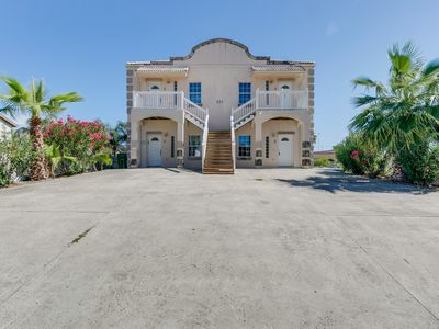 Photo for Dog-friendly duplex with patio & great location close to beach & restaurants