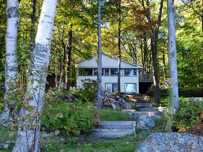 Photo for Authentic 1935 Muskoka Log Cabin with All the Comforts of Home