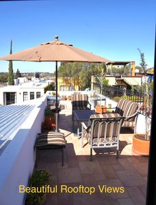 Photo for 2BR + rooftop in heart of SMA historic Centro. Monthly discount rate available
