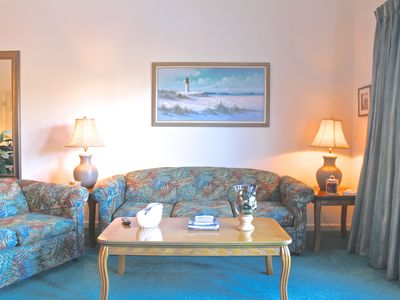 Photo for Spacious & Updated 2 Bed/2 Bath Condo 1.3 miles to Surfside Beaches-216C2