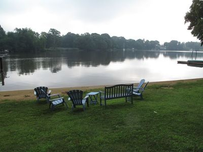 Enjoy a quiet morning on the water or an evening camp fire.