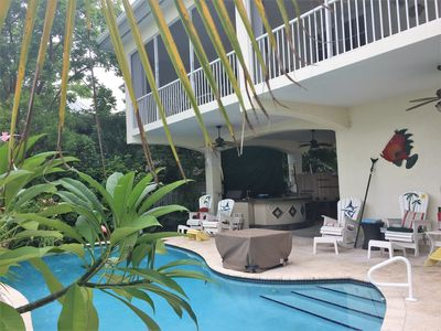 Photo for Stunning Paradise canal House with private POOL in the Florida Keys - Undamaged!